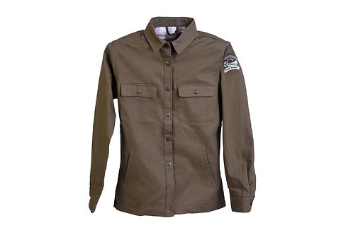 Camp Pongo Women's Canvas Shirt Jacket