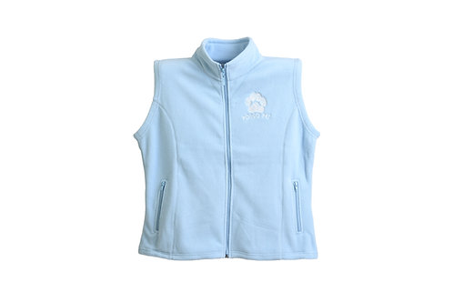 Pongo Pet Pawz Women's Polar Fleece Vest