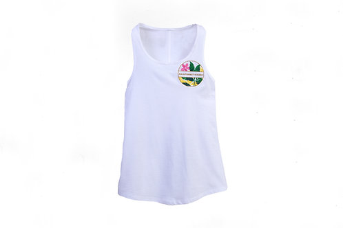Rainforest Kisses Embroidered Tank Top