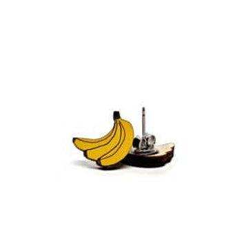 Pongo Banana Earrings