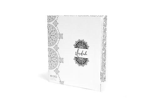 Indah Anti Stress Coloring Book