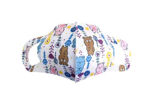 Grape Ape Beary Bear Kids Mask