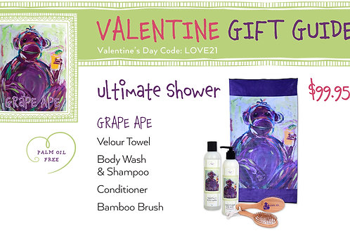 Valentine's Day Grape Ape Ultimate Shower