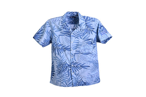 Pongo Men's Tropical Print Camp Shirt