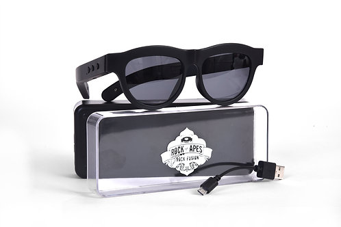 Rock of Apes Rock Fusion Bluetooth Sunglasses W/Case
