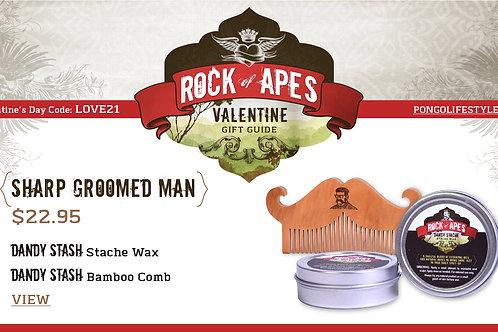 Valentine's Day Sharp Groomed Man