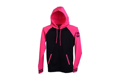 Indah Performance Colorblock Full Zip Hooded Sweatshirt
