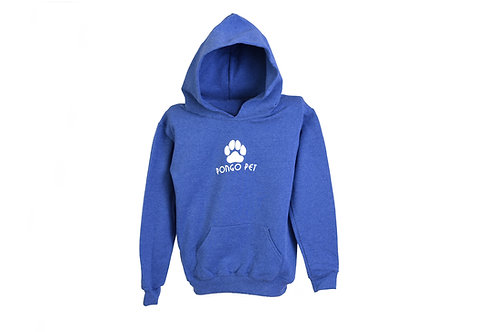 Pongo Pet Pawz Youth Hooded Sweatshirt