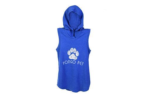 Camp Pongo Pawz Sleeveless Hooded T-shirt