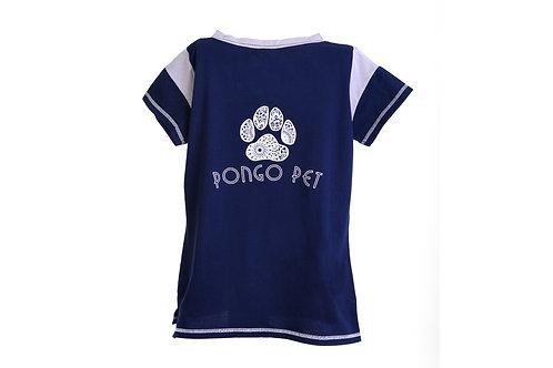 Pongo Pet Pawz Women's Lace-up T-shirt
