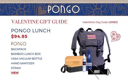 Valentine's Day Pongo Lunch