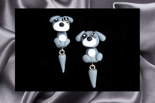 Pongo Pet Rescue Gidgette's Clay Earrings