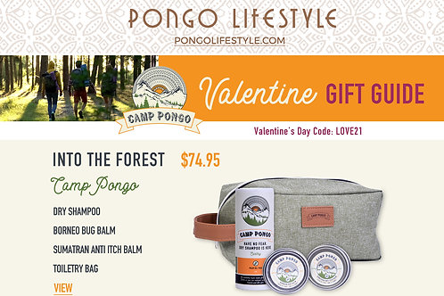 Valentine's Day Camp Pongo Into the Forest