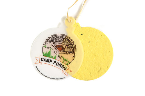 Camp Pongo Wildflower Seeded Ornaments