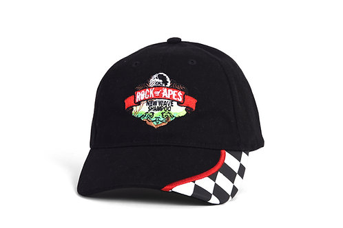 Rock of Apes New Wave Checkered Cap