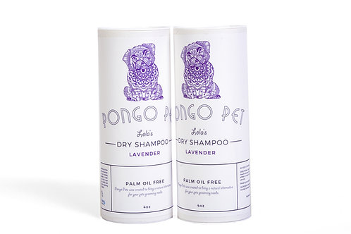 Pongo Pet Lola's Dry Shampoo