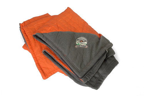 Camp Pongo Oversized Camping Blanket with Carrying Pouch