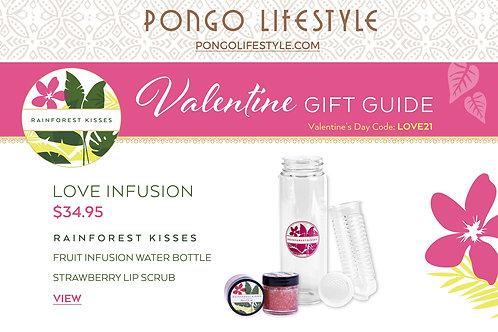 Valentine's Day Rainforest Kisses Love Infusion