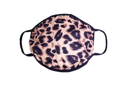 Rainforest Kisses Leopard Print Reusable Fase Mask