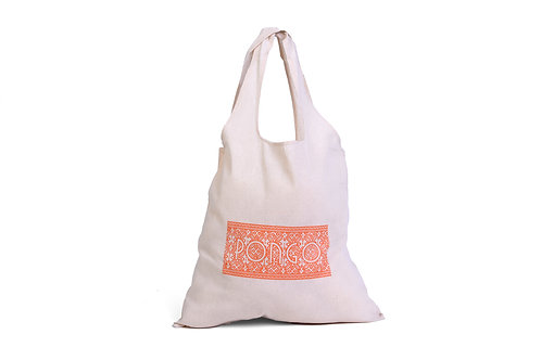 Pongo Natural Cotton Shopper Tote