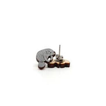 Pongo Manatee Earrings