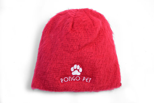 Pongo Pet Pawz Fuzzy Knit Winter Beanie