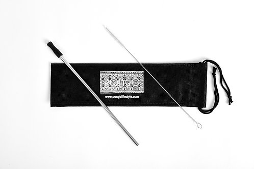 Pongo Stainless Steel Straw Set