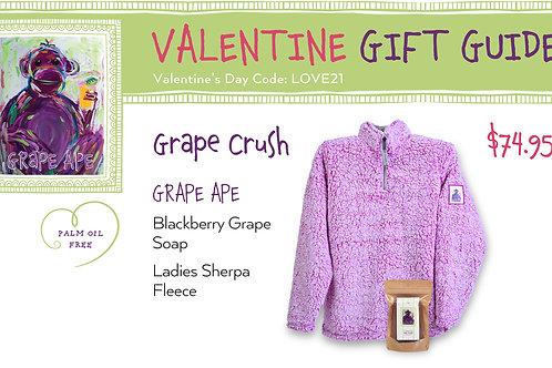 Valentine's Day Grape Crush