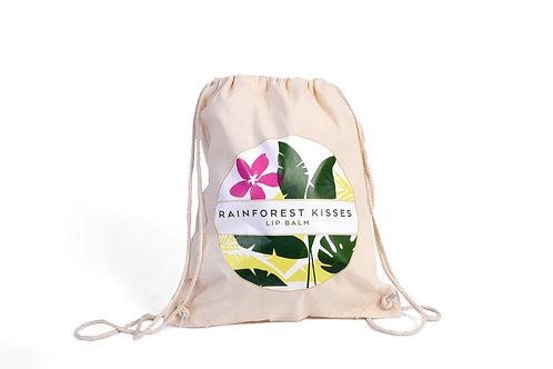 Rainforest Kisses Drawcord Bag