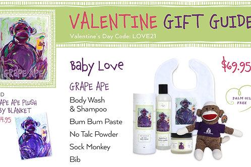Valentine's Day Grape Ape Baby Love