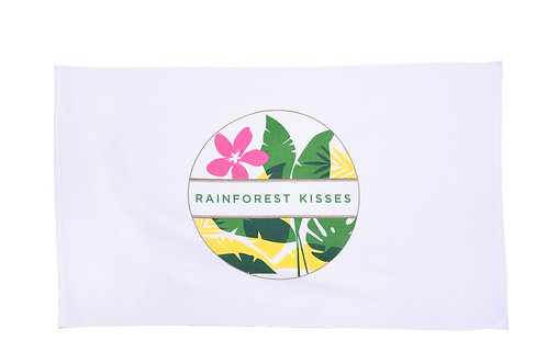 Rainforest Kisses Beach Towel