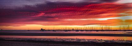 St Kilda Marina ~ Blood Sky @ Sunset