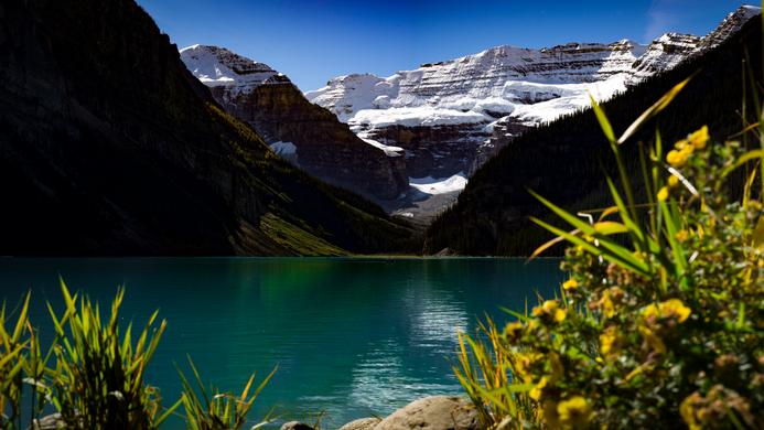 Lake-Louise.The Rockies