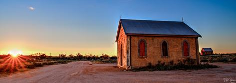 Sliverton Morning, Outback Aust