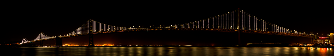 Oakland Bay Bridge-San Franciso.