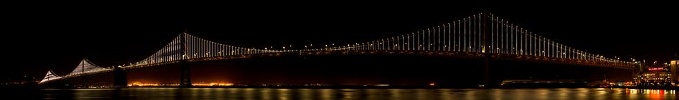 Oakland Bay Bridge-San Franciso.