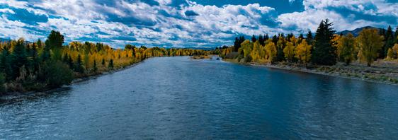 Grand-Tenton, Snake River