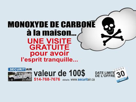 monoxyde de carbone - visite gratuite pour en avoir le coeur net