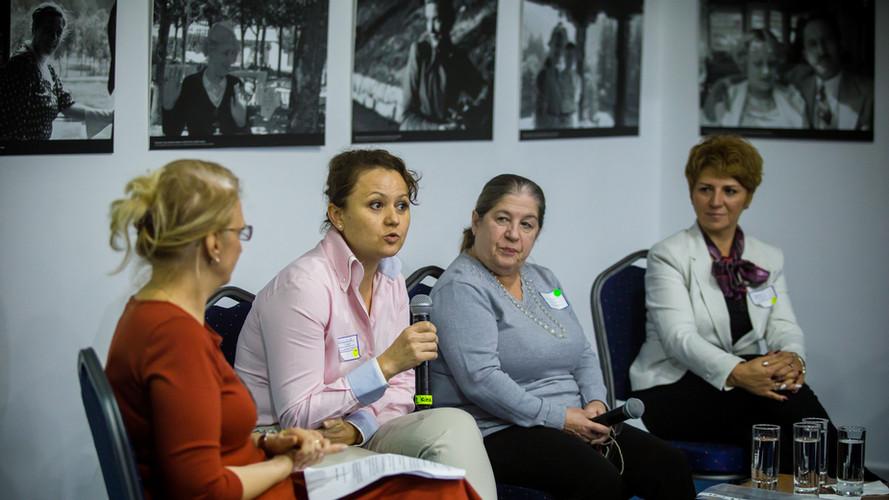 Conferinta panel candidati