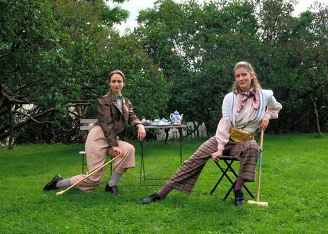 Te, Croquet og Shakespeare