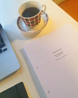 Osteprofessoren - first draft is finishe
