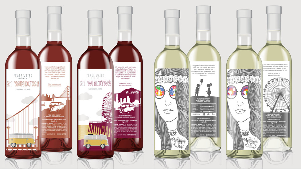 Storybook Wine Labels