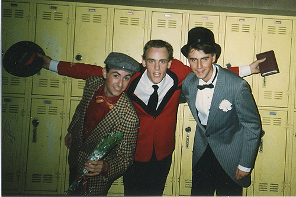 A high school production of Guys and Dolls.