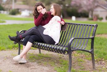 Natalia and Claire