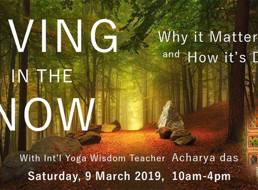 Living In The Now - 9th Mar 2019