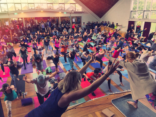 Scenes From Yoga Day 2017!