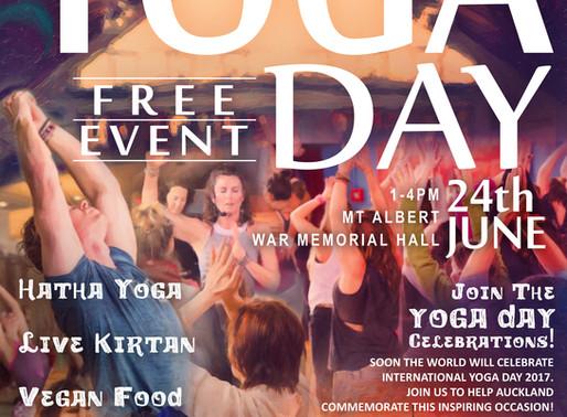International Yoga Day 2017!