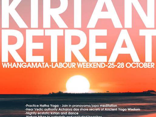 Labor Day Yoga Kirtan Retreat!