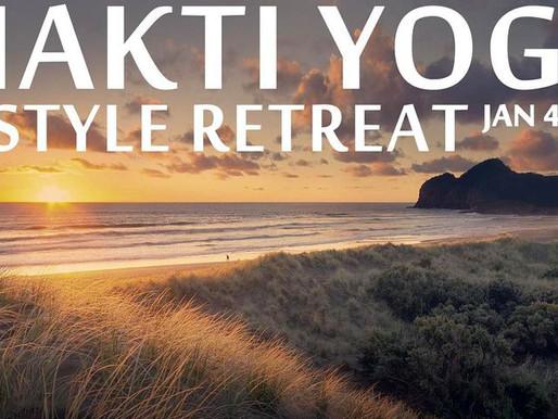 Bethell's Bhakti Yoga Lifestyle Retreat              January 4th 4pm - January 8th 11am
