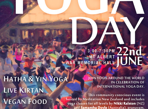 International Yoga Day Celebration 2019     June 22nd